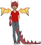 dragon boy by Zombified-Muffin
