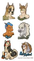 FC Bust Badges 2009 by Shadow-Wolf