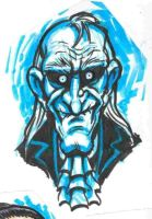 Uncle Creepy Marker Doodle by JollyGorilla