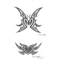 some tattos by ur-mom
