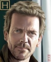 Hugh Laurie by Jackie2k