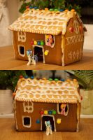 Gingerbread House! by mnmk