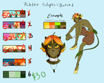 Palette Adopts 1 [1 left] by landiddy