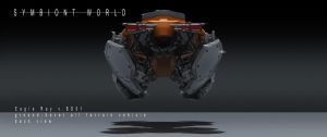 symbiont world - eagle ray hover bike 4 by przemek-duda