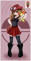 Pokemon X/Y Female Trainer by AtelierJordan