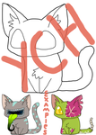 Kitty Cat YCH OPEN by StarphishyAdopts