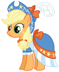 Applejack's Coronation Dress by Bethiebo