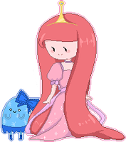 Princess Bubblegum Pixel by natto-uzumaki