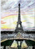 Eiffel Tower by Dwheels