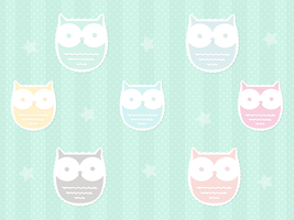 Owl Macarons by apparate