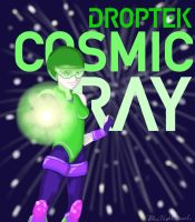 Cosmic Ray by BlueNightVessel