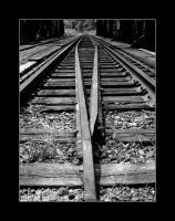tracks accross the bridge by panic8