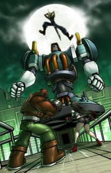 Final Fantasy VII - Versus Air Buster by Kaigetsudo