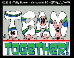 TEAM TOGETHER@tony p power by tony-p-power