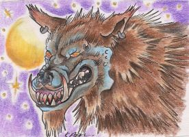 Wearwolf ACEO by Nathaldron