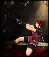 Resident Evil: Claire Redfield by Asrai-