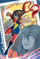 Kamala Khan IS Ms. Marvel by MachSabre