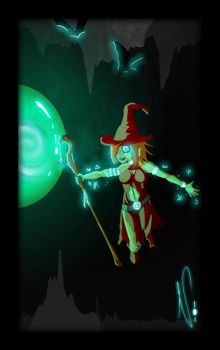 Journey Chapter -The Sorceress by Noctropolitan