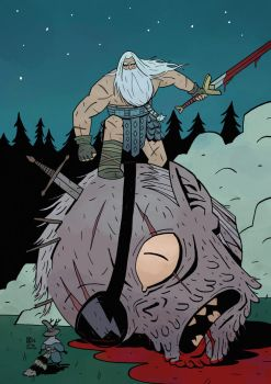Head Lopper fanart by ChrisZEROSEV