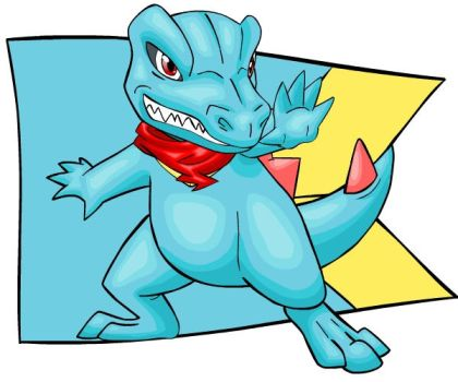 Mystery Dungeon 2: Totodile by Iron-Zing