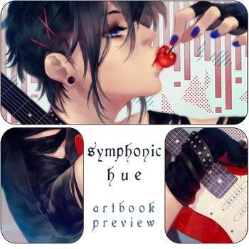 Symphonic Hue Charity Artbook Preview by Aka-Shiro