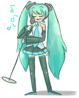 miku by daftcosmo