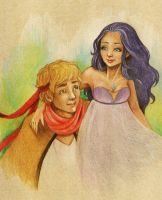 Nevera and Alex by elisabethzhang