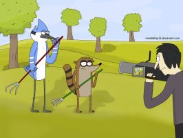How to create a regular show by Mordekhay33