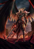 Kayle the Retaliator by Tsu-gambler