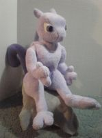 Mewtwo by cosmiccrittercrafts
