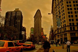 Flat Iron Building by LabsOfAwesome