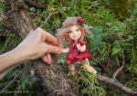 Ruby OOAK art doll - ball jointed posable doll by LegendLand