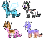 A Sheet Of Adopts! [OPEN] by X-Raptorr