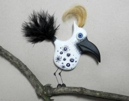 hairy Bird :D by ConniBerlin
