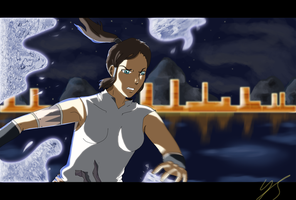 The Legend of Korra Fanart by Johny-Kun