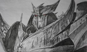 Megatron/Unicron Sketch by PDJ004