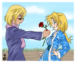 A rose.. for you... by Vespi