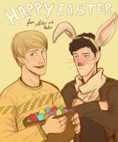 Have a happy Merthur Easter! by kneelmortals