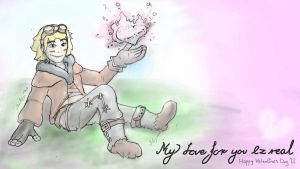 Ezreal - Valentines Card by matheist