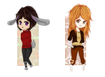 Chibi Request Batch 2 by jellification
