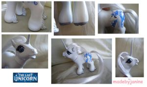 My Little Last Unicorn by MadeByJanine