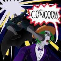 Batman VS Dross by ThiefMasterGC