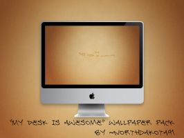 Awesome Desk wallpaper by NorthDakota91