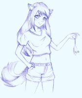 Fox girl by CLJ199