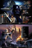 Win7 Star Wars Theme by KeybrdCowboy