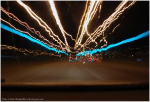 light trails by S34nny