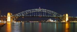 The Bridge - By Night by MarkLucey