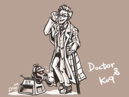 Doctor Who- K9 by chingc