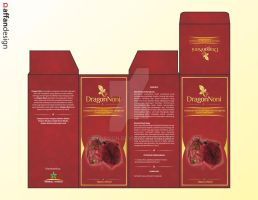 Dragon Noni Package + Logo by afndsgn