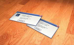 C4 Business card by Indriks